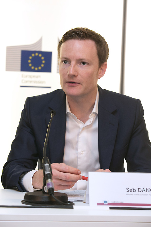 03 June 2015 - Belgium - Brussels - European Development Days - EDD - Food - Small-scale farming and sustainable food systems - Seb Dance , Member of the European Parliament (SandD) © European Union