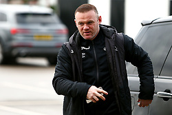 Derby County manager arrives at Pride Park Stadium, home to Derby County - Mandatory by-line: Ryan Crockett/JMP - 16/01/2021 - FOOTBALL - Pride Park Stadium - Derby, England - Derby County v Rotherham United - Sky Bet Championship