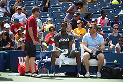 Gael Monfils (FRA) during his practice at the 2019 US Open at Billie Jean National Tennis Center in New York City, NY, USA, on August 24, 2019. Photo by Corinne Dubreuil/ABACAPRESS.COM