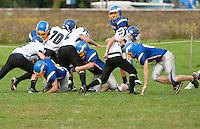 Gilford Varsity Football versus Winnisquam Regional September 24, 2011.