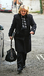 © London News Pictures. 09/02/2013 . London, UK. Judith Batchelar, Director of Brand at Sainsbury's, arriving at the Department for the Environment, Food and Rural Affairs in London where Secretary of State for Environment, Food and Rural Affairs, Owen Paterson is holding a summit to discuss the unfolding scandal over horsemeat being found in various products.. Photo credit : Ben Cawthra/LNP