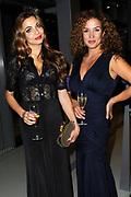 NFF - Nederlands Filmfestival - uitreiking van de Gouden Kalveren in Tivolli Utrecht.<br /> <br /> op de foto:  Georgina Verbaan en Katja Schuurman