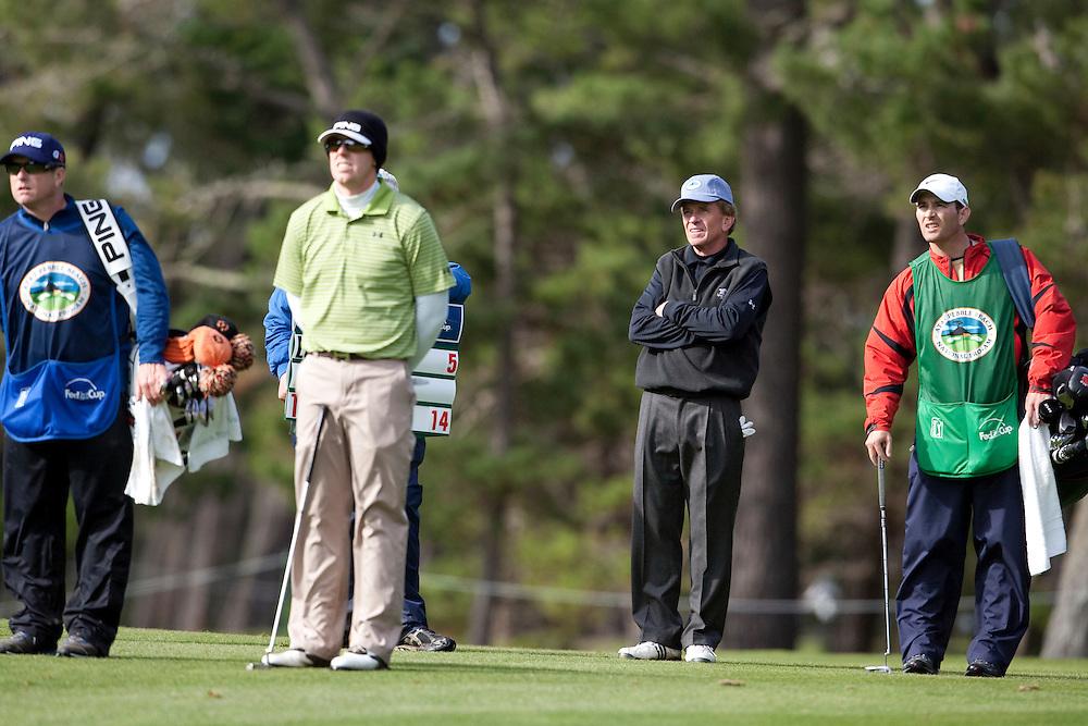 PGA tour commissioner Tim Finchem at the 2009 AT&T Pebble Beach Pro Am.