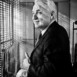 PARIS, FRANCE. FEBRUARY 2012, 9. Bernard Fornas, Chief Executive of Cartier, in his office. Photo: Antoine Doyen