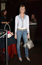 LADY EMILY COMPTON at a party to celebrate the launch of Ladies' Day at The Vodafone Derby Festival held at Frankie's Bar & Grill, 3 Yeomans Row, London SW7 on 19th April 2005.<br />