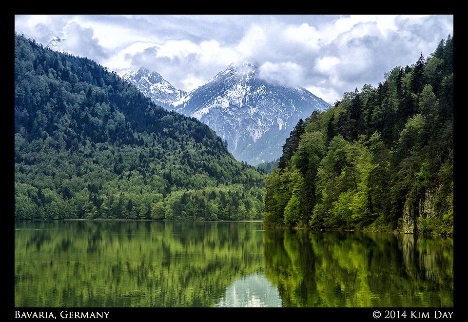 Alpsee Lake<br /> Hohenschwangau, Germany<br /> May 2014