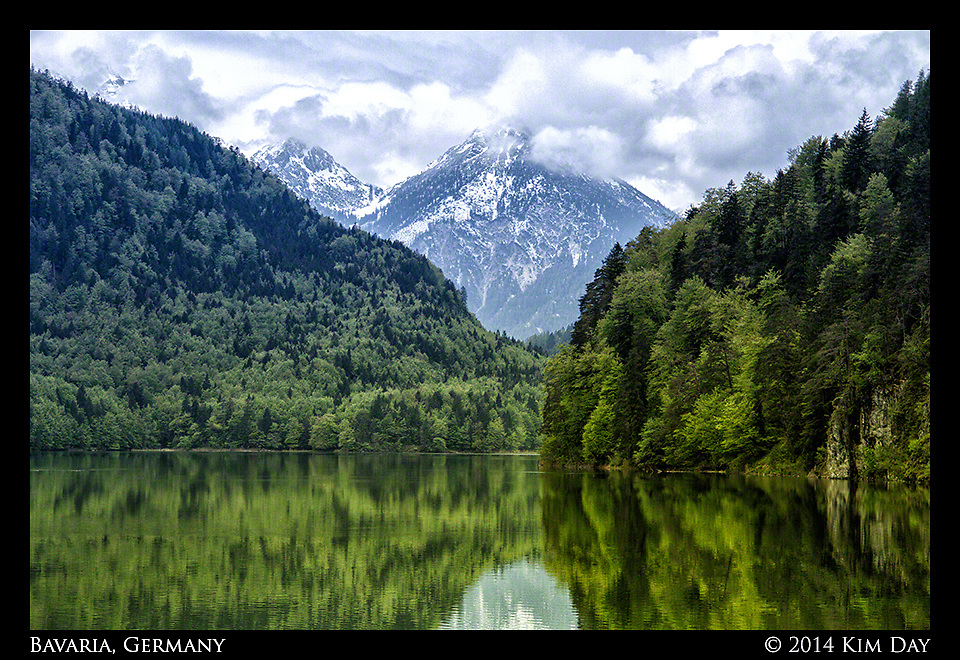 Alpsee Lake<br /> Hohenschwangau, Germany<br /> May 2014