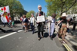 May 5, 2018 - The marches come just weeks ahead of a referendum in Ireland on the eighth amendment. Ireland goes to the polls on May 25. They will be asked whether they want to retain the eighth amendment of the constitution  which gives equal rights to the mother and her unborn child. (Credit Image: © Velar Grant via ZUMA Wire)