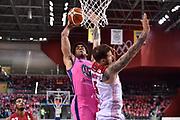 McAdoo James Michael<br /> FIAT Torino - AX Armani Exchange Milano<br /> Lega Basket Serie A 2018-2019<br /> Torino 04/11/2018<br /> Foto M.Matta/Ciamillo & Castoria