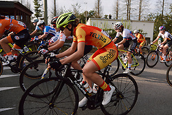 Sara Martin Martin (ESP) at the 2020 UEC Road European Championships - Under 23 Women Road Race, a 81.9 km road race in Plouay, France on August 26, 2020. Photo by Sean Robinson/velofocus.com