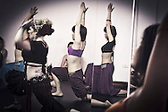 Belly dance class in Hanoi, Vietnam, Asia