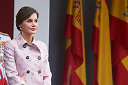 052618 Spanish Royals Attend the Armed Forces Day
