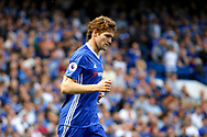 Chelsea Defender Marcos Alonso (3) during the Premier League match between Chelsea and Sunderland at Stamford Bridge, London, England on 21 May 2017. Photo by Andy Walter.