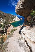 Trail to Potato Harbor, Santa Cruz Island, Channel Islands National Park, California