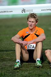 08-12-2013 ATHLETICS: SPAR EC CROSS COUNTRY: BELGRADE<br /> Junior men 6 km / Tommy Staal<br /> ©2013-WWW.FOTOHOOGENDOORN.NL
