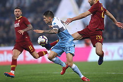 March 2, 2019 - Rome, Lazio, Italy - SS Lazio v As Roma : Serie A.Joaquin Correa of Lazio at Olimpico Stadium in Rome, Italy on March 2, 2019. (Credit Image: © Matteo Ciambelli/NurPhoto via ZUMA Press)