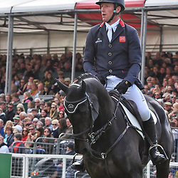 Oliver Townend Badminton Horse trials Gloucester, England UK May 2019. Oliver Townend equestrian eventing representing Great Britain riding Ballaghmor Class in the Badminton horse trials 2019 Badminton Horse trials 2019 Winner Piggy French wins the title