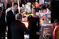 King Felipe VI of Spain and Queen Letizia of Spain attends to photocall of 50th anniversary sport newspaper As in Madrid, Spain. December 04, 2017. (ALTERPHOTOS/Borja B.Hojas)