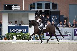 Wolf Stefanie, GER, Saphira Royal<br /> World Championship Young Dressage Horses <br /> Ermelo 2016<br /> © Hippo Foto - Dirk Caremans<br /> 29/07/16