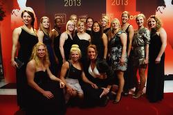 17-12-2013 ALGEMEEN: SPORTGALA NOC NSF 2013: AMSTERDAM<br /> In de Amsterdamse RAI vindt het traditionele NOC NSF Sportgala weer plaats. Op deze avond zullen de sportprijzen voor beste sportman, sportvrouw, gehandicapte sporter, talent, ploeg en trainer worden uitgereikt / Rugby vrouwen<br /> ©2013-FotoHoogendoorn.nl