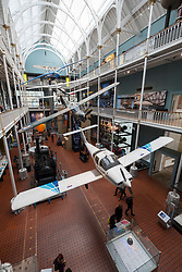 Interior of National Museum of Scotland in Edinburgh, Scotland, United Kingdom