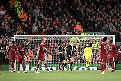September 18, 2018 - Liverpool, France - 12 THOMAS MEUNIER (PSG) - 09 EDINSON CAVANI (PSG) - JOIE (Credit Image: © Panoramic via ZUMA Press)