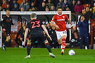 Daniel Pinillos of Barnsley (23) in action during the EFL Sky Bet League 1 match between Barnsley and Sunderland at Oakwell, Barnsley, England on 12 March 2019.