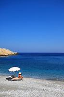 Folegandros, Greece, Islands Greece, Beach, Beach girl,
