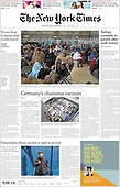 September 03, 2021 - UK: Front-page: Today's Newspapers In United Kingdom