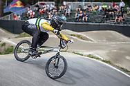 #247 (TE HIKO Brandon) AUS during practice at Round 5 of the 2018 UCI BMX Superscross World Cup in Zolder, Belgium