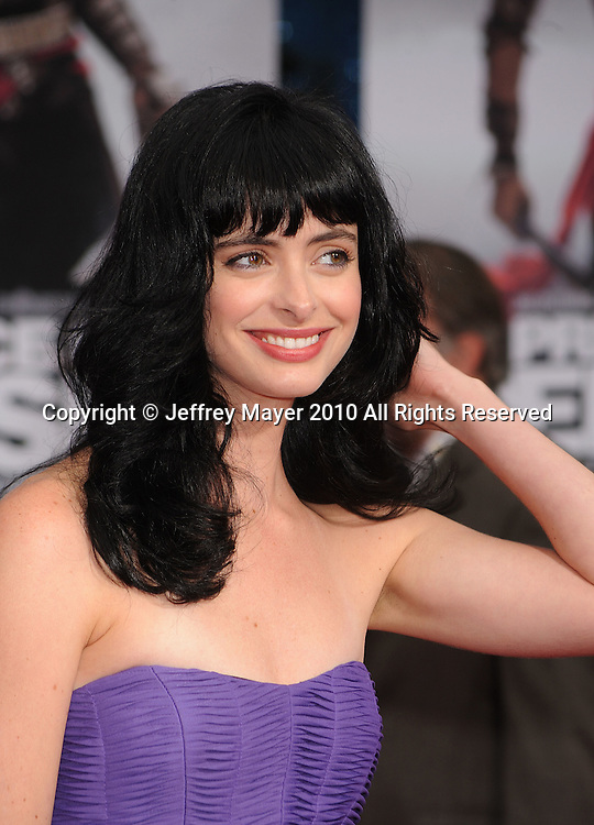 """HOLLYWOOD, CA. - May 17: Krysten Ritter arrives at the """"Prince of Persia: The Sands of Time"""" Los Angeles Premiere held at Grauman's Chinese Theatre on May 17, 2010 in Hollywood, California."""