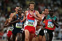Friidrett Olympiske Leker / OL / 2008 20.08.2008 <br /> 500o m ; Philipp Bandi (2918) , SUI , Bernard Lagat 83194) , USA og Pkemei Thomas Longosiwa 82277) , Kenya