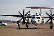 Arkansas, AR, USA, Airpower Arkansas 2006 was held at the Little Rock Air Force base November 2006 participation of the Air Force, Navy, National Guard and civilian aerobatics aviators. Northrop Grumman E-2C Hawkeye carrier-based warning and control on ground