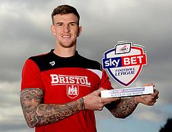 Aden Flint of Bristol City wins Sky Bet Championship player of the month for February  - Mandatory byline: Joe Meredith/JMP - 10/03/2016 - FOOTBALL - Ashton Gate - Bristol, England - Lee Johnson