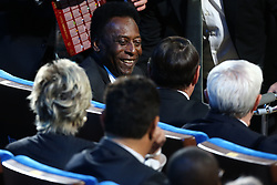 December 1, 2017 - Moscow, Russia - Pele looks on before the Final Draw for the 2018 FIFA World Cup at the State Kremlin Palace on December 01, 2017 in Moscow, Russia. (Credit Image: © Igor Russak/NurPhoto via ZUMA Press)