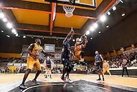 Derrick NIX / Jean Michel MIPOKA / Marc Antoine PELLIN - 07.12.2014 - Orleans / Rouen - 11eme journee de Pro A<br />Photo : Fred Porcu / Icon Sport