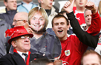 Photo: Steve Bond/Sportsbeat Images.<br /> Wolverhampton Wanderers v Bristol City. Coca Cola Championship. 03/11/2007. Bristol City fans & friends