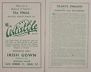 All Ireland Senior Football Final, Kerry v Roscommon, 24.09.1944, 09.24.1944, 24th September 1944, Roscommon 1-09 Kerry 2-04, 24091944AISFCF, ...