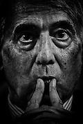 Giuliano Pisapia, sindaco di Milano del Partito Dempcratico è un avvocato, scrittore e politico italiano, eletto deputato per due legislature. Roma 05 Luglio 2013. Christian Mantuano / OneShot