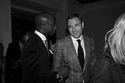 OSWALD BOATENG; DAVID WALLIAMS, Afterparty for Burberry  Spring/Summer 2010 Show. Horseferry House. Horseferry Rd. London sW1.  London Fashion Week.  22 September 2009.