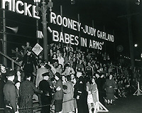 1939 Premiere of Babes in Arms at Grauman's Chinese Theater