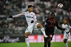 October 28, 2018 - Bordeaux, France - Pablo (gir) vs Mario Balotelli  (Credit Image: © Panoramic via ZUMA Press)