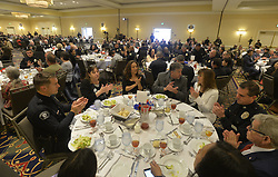 May 23, 2019 - Torrance, California, U.S. - The room was full of law enforcement and their supporters for the 45th Annual Southbay Medal of Valor Luncheon in Torrance on Thursday, May23, 2019. (Credit Image: © Brittany Murray/SCNG via ZUMA Wire)