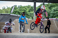 #23 (STANCIL Felicia) USA at Round 6 of the 2019 UCI BMX Supercross World Cup in Saint-Quentin-En-Yvelines, France