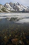 Grand Teton Reflection during spring meltoff - Grand Teton National Park