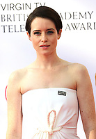 Claire Foy, Virgin TV British Academy Television Awards, Royal Festival Hall, London UK, 13 May 2018, Photo by Richard Goldschmidt