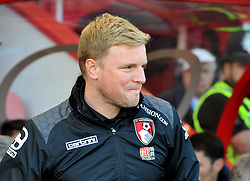 Bournemouth Manager Eddie Howe - Mandatory by-line: Paul Knight/JMP - 02/04/2016 - FOOTBALL - Vitality Stadium - Bournemouth, England - AFC Bournemouth v Manchester City - Barclays Premier League