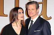 "Jan 14, 2015 - ""Kingsman: The Secret Service"" - World Premiere - Red Carpet Arrivals at Odeon,  Leicester Square, London<br /> <br /> Pictured: Colin Firth, Livia Giuggioli<br /> ©Exclusivepix Media"