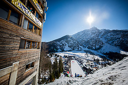 Planica Hill during the Ski Flying Hill Individual Qualification at Day 1 of FIS Ski Jumping World Cup Final 2018, on March 22, 2018 in Planica, Ratece, Slovenia. Photo by Ziga Zupan / Sportida