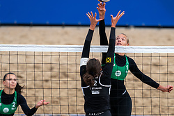 Spela Morgan in action during CEV Continental Cup Final Day 1 - Women on June 23, 2021 in The Hague